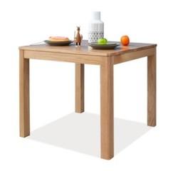 源氏木语纯实木餐桌橡木方桌现代简约饭桌麻将桌北欧餐厅吃饭桌子