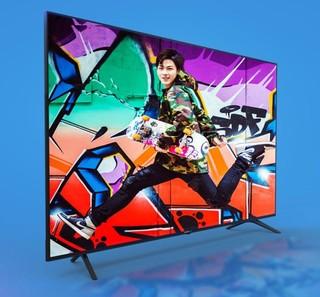 VIDAA H55E3A  55英寸 4K超高清液晶电视 黑色