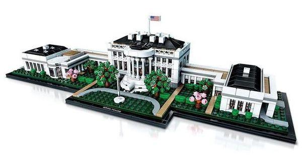 LEGO 乐高 建筑系列 21054 美国白宫