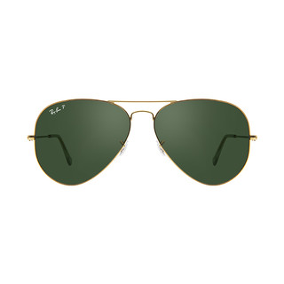 Ray·Ban 雷朋眼镜Aviator飞行员系列男女通用 偏光防嗮灰色镜片太阳墨镜RB3025