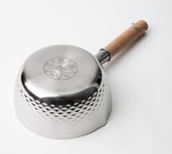 JIWU 苏宁极物 日式不锈钢 小汤锅