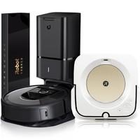 iRobot 艾罗伯特 Braava jet m6+Roomba i7+ 智能家用拖地机器人吸尘器礼盒 扫地机+擦地机