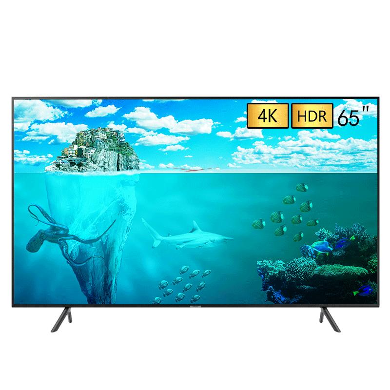 SAMSUNG 三星 RU7550系列 UA65RU7550JXXZ 65英寸 4K超高清液晶电视