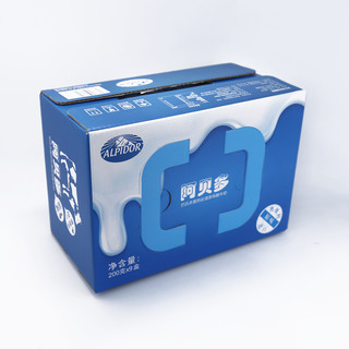 阿贝多 酸牛奶 200g*9盒 *2件