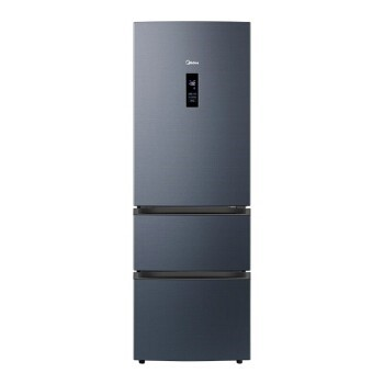 Midea 美的 美的(Midea)325升三门智能家电冰箱19分钟急速净味除菌一级能效双变频智能WiFi操控风冷无霜BCD-325WTPZM(E)