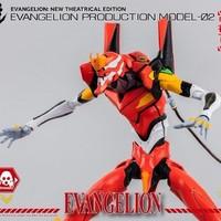 threezero《新世纪福音战士》二号机 可动模型