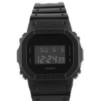 CASIO 卡西欧 G-SHOCK系列 DW-5600BB-1 中性电子手表 48.9mm 树脂表盘表带 黑色 方形