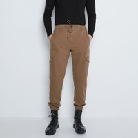 ZARA 09252303707 多口袋工装裤