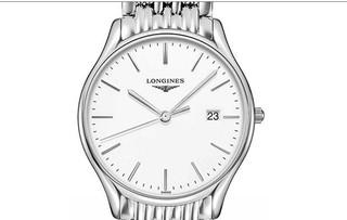 LONGINES 浪琴 律雅系列 L4.859.4.12.6 男士石英手表