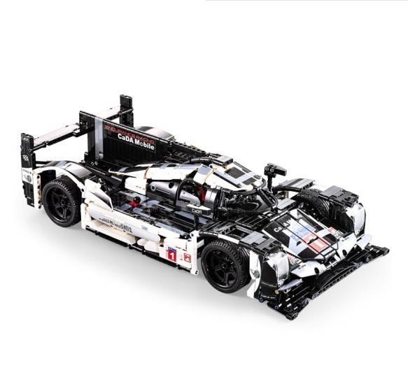 CaDA 咔搭 C61016 儿童积木玩具 919耐力赛车(1586颗粒)