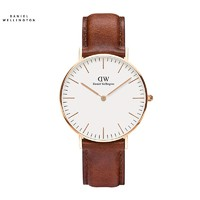Daniel Wellington DW00100066 男士超薄石英表