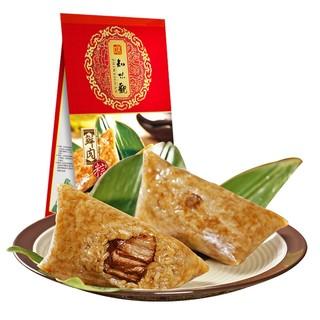 知味观 鲜肉粽杭州特产手工粽子 140g*2只