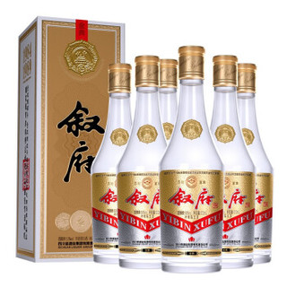叙府 金典 52度 浓香型白酒 500ml*6瓶