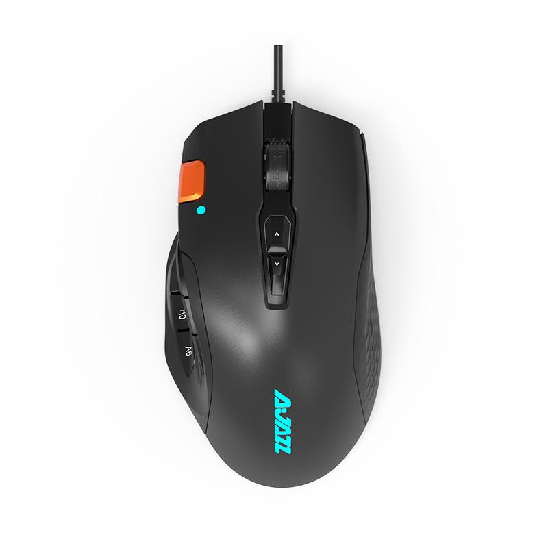 AJAZZ 黑爵 AJ337 有线鼠标 10000DPI 黑色