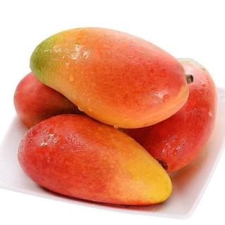 黔食荟 贵妃芒果生鲜水果 红金龙芒果精品果 3斤装
