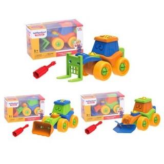 吉米兔 儿童拆装工程玩具车
