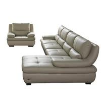 ZUOYOU 左右家私 DZY2802 真皮沙发组合 转二件反向+休单