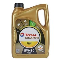 TOTAL 道达尔 极驰9000 Future NFC 5W-30 全合成机油 4L *5件