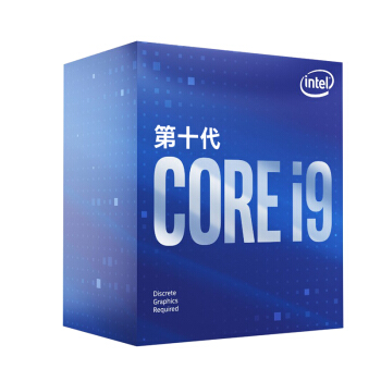 intel 英特尔 酷睿i9-10900F 盒装CPU处理器 2.8GHz