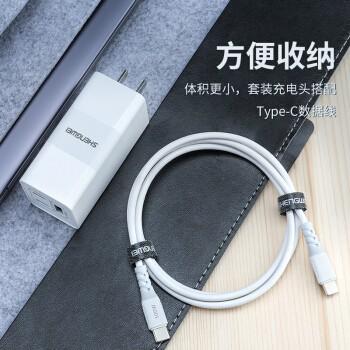 shengwei 胜为 GaN氮化镓 充电器 65W(2C1A)+ 100W Type-C线 套装
