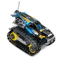 宇星模王 遥控APP 编程版电动积木 YX13032 履带赛车
