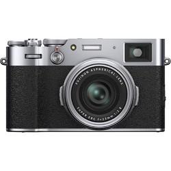 12期免息 : 富士(FUJIFILM)X100V/x100v 数码相机/旁轴造型APS-C画幅大底照相 银色