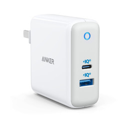 ANKER GaN 60W PD 双口充电器