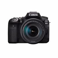 Canon 佳能 EOS 90D APS-C画幅 单反相机 套机(18-135mm)