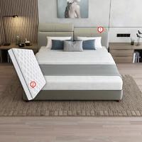 SLEEMON 喜临门 曼哈顿 头层牛皮软双人床 1.8米床+星空R床垫