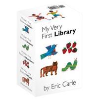 《我的第一个图书馆》 英文原版翻翻书