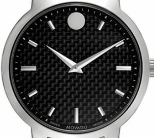 MOVADO 摩凡陀 GRAVITY系列 0606838 男士时装腕表