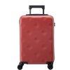 不莱玫巧克力系列PC拉杆箱万向轮旅行箱20英寸行李箱登机箱 磨砂红