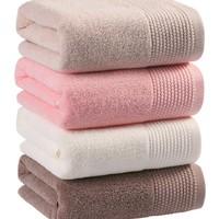 长绒棉浴巾强吸水速干 加大加厚