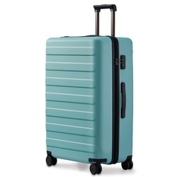 NINETYGO 90分 双杆万向轮拉杆箱旅行箱托运箱 薄荷蓝 24英寸