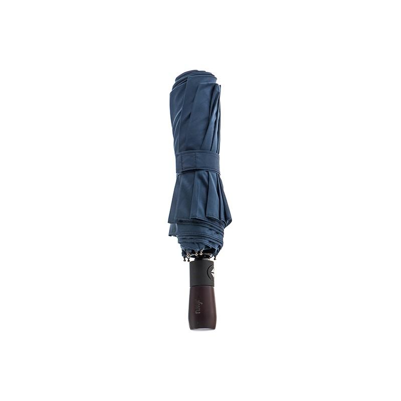 JIWU 苏宁极物 自动折叠伞 三折 深蓝色