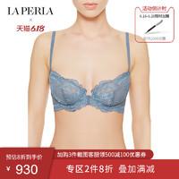 LA PERLA女士BRIGITTA系列胸罩性感文胸内衣薄款网纱蕾丝透明