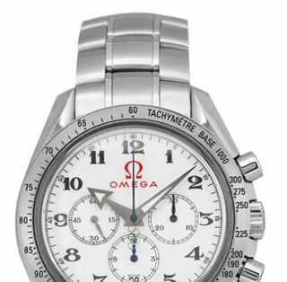 OMEGA 欧米茄 特别系列 321.10.42.50.04.001 男士机械手表 42mm 白盘 银色不锈钢带 圆形