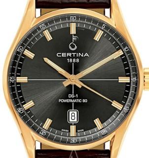 CERTINA 雪铁纳 DS-1 Powermatic 80 C029-407-36-081-00 男士机械腕表