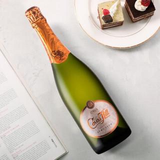 汉凯(Henkell)卡瓦山半干起泡酒 750ml 单瓶装 西班牙进口葡萄酒红酒