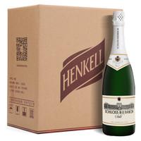 汉凯(Henkell)毕步奇干型起泡酒  750ml*6瓶 整箱 德国进口红酒白葡萄酒