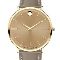 MOVADO 摩凡陀 瑞纤系列 0607375 男士石英手表