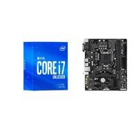 intel 英特尔 酷睿 i7-10700 盒装处理器+B460M AORUS PRO 套装