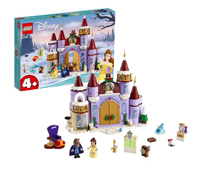 LEGO 乐高 迪士尼公主系列 43180 贝儿的冬季城堡庆典