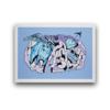 艺术品 周杰伦 Jay《幻想Ⅰ》Fantasy Ⅰ 丝网版画 H57 x W80 cm