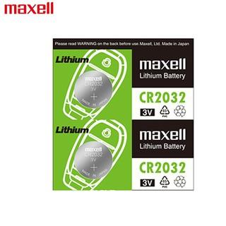 maxell 麦克赛尔 日本Maxell麦克赛尔CR2032CR2025进口汽车钥匙遥控器纽扣电池2016
