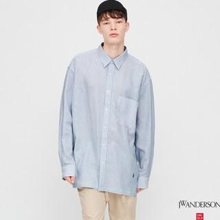 UNIQLO 优衣库 JW ANDERSON 427828 麻莫代尔衬衫