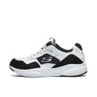 SKECHERS 斯凯奇 Skechers Meridian 13009 运动板鞋 白色/黑色 37