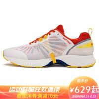 多威马力慢跑鞋男女新款maxpower路跑鞋缓震保护跑步运动鞋MT8090 白/橘 41