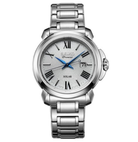 SEIKO 精工 PREMIER系列 SUT321P1 女士光动能手表