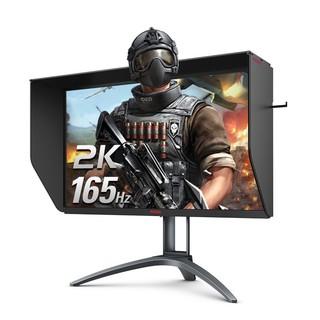 AOC 冠捷 爱攻 AG273QXS 27英寸IPS显示器(2560*1440、165HZ、1ms)
